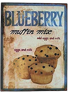 Rustic Blueberry Wall Sign