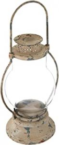 Rustic Railway Lantern Candle Holder