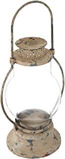 Rustic Railway Lantern Candle Holder