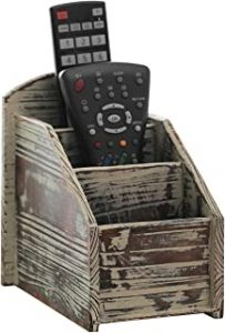 Rustic Wood Remote Control Box