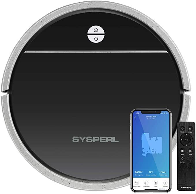 SYSPERL V30 Robot Vacuum Cleaner
