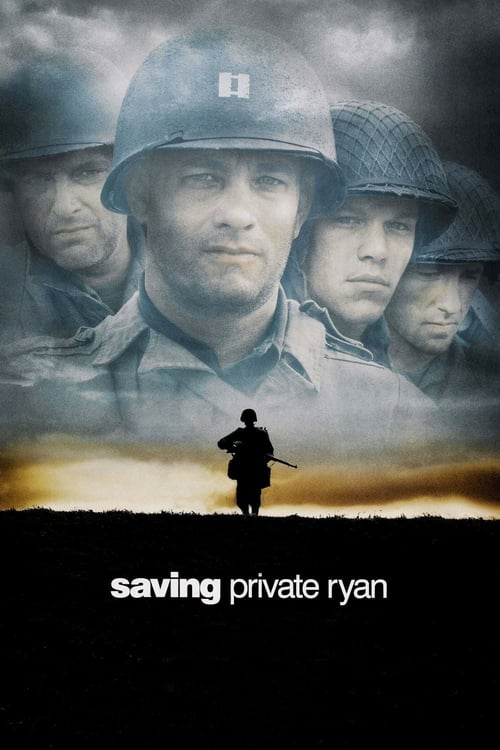 Saving Private Ryan movie poster 1998