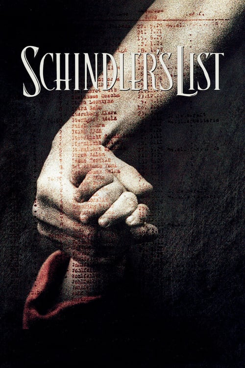 Schindler's List movie poster 1993