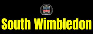 South Wimbledon  London Underground Station Logo PNG