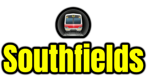Southfields  London Underground Station Logo PNG