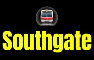 Southgate  London Underground Station Logo PNG