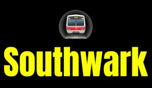 Southwark  London Underground Station Logo PNG