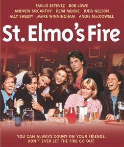 St Elmos Fire Poster
