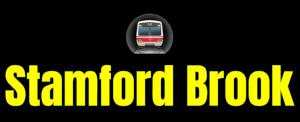 Stamford Brook  London Underground Station Logo PNG