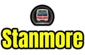 Stanmore  London Underground Station Logo PNG