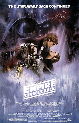 Star Wars The Empire Strikes Back Poster