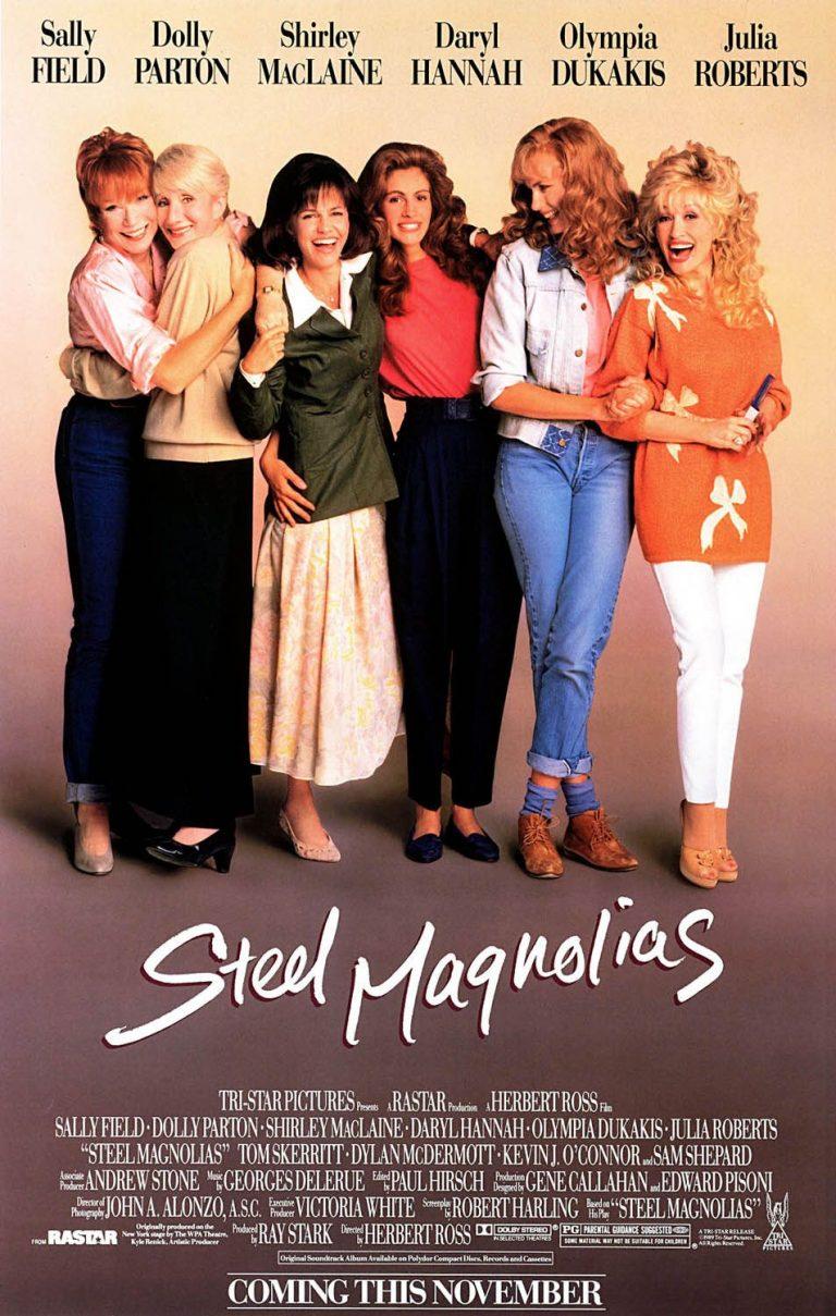 Steel Magnolias 1989 Movie Poster