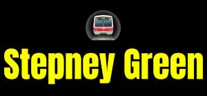 Stepney Green  London Underground Station Logo PNG