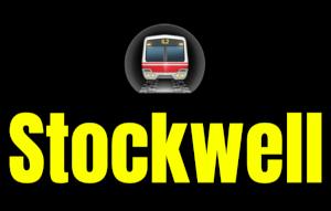 Stockwell  London Underground Station Logo PNG