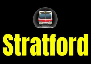 Stratford  London Underground Station Logo PNG