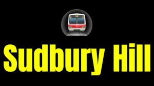 Sudbury Hill  London Underground Station Logo PNG