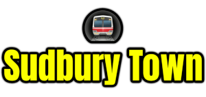 Sudbury Town  London Underground Station Logo PNG