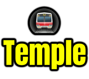 Temple  London Underground Station Logo PNG