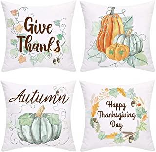 Thanksgiving Autumn Pillow Cover
