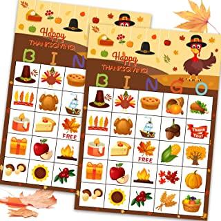 Thanksgiving Bingo Game