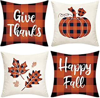 Thanksgiving Festive Pillow Cover