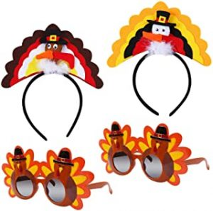 Thanksgiving Sunglasses and Headband Set