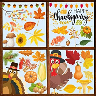 Thanksgiving Window Cling Set