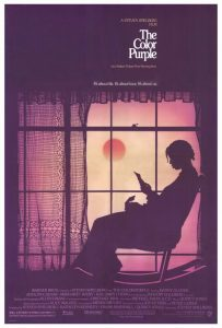 The Color Purple 1985 movie poster