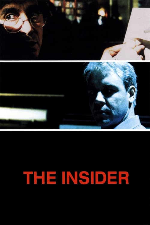 The Insider movie poster 1999
