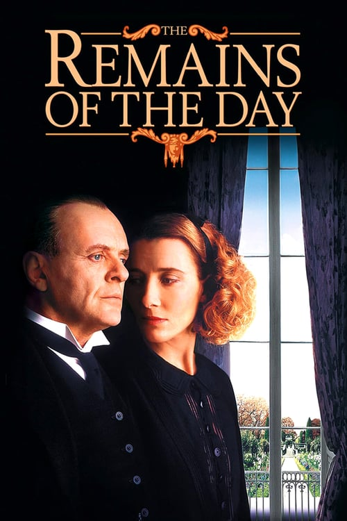 The Remains of the Day movie poster 1993