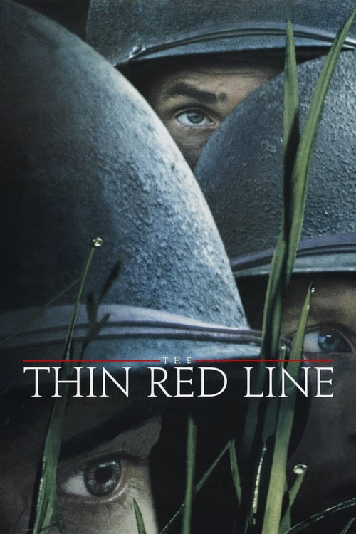 The Thin Red Line movie poster 1998