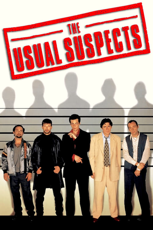 The Usual Suspects movie poster 1995