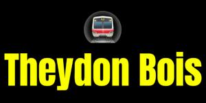 Theydon Bois  London Underground Station Logo PNG