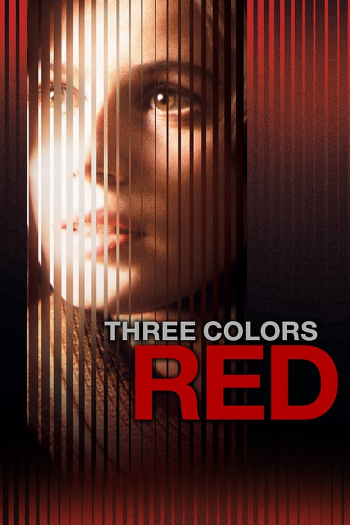 Three Colors: Red movie poster 1994