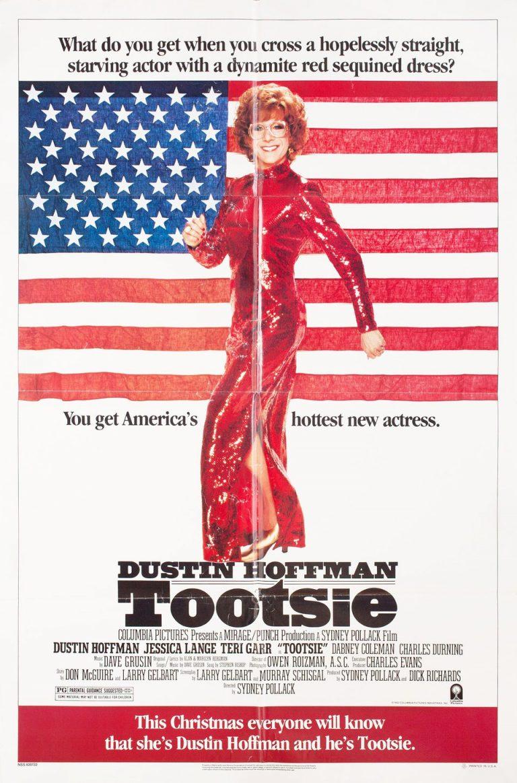 Tootsie movie poster 1982