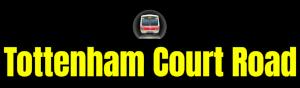 Tottenham Court Road  London Underground Station Logo PNG