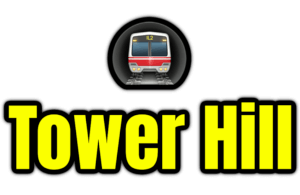 Tower Hill  London Underground Station Logo PNG