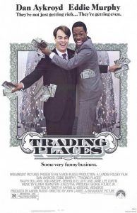 Trading Places Movie Poster 1983