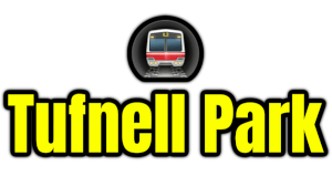 Tufnell Park  London Underground Station Logo PNG