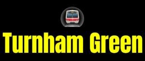 Turnham Green  London Underground Station Logo PNG