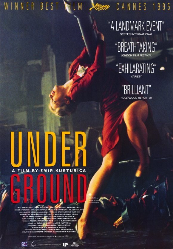 Underground Movie Poster 1995
