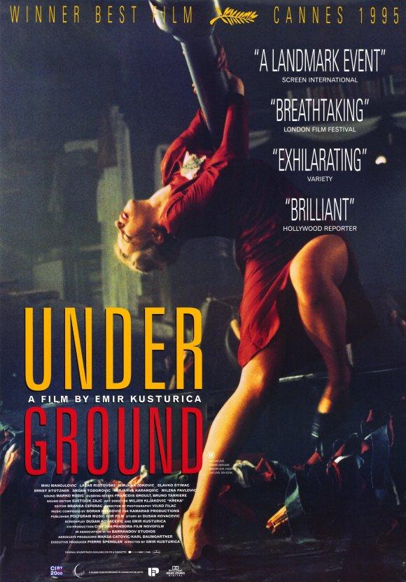Underground Movie Poster 1995