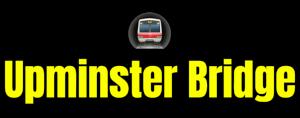 Upminster Bridge  London Underground Station Logo PNG