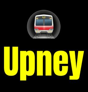 Upney  London Underground Station Logo PNG