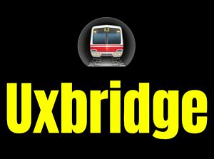 Uxbridge  London Underground Station Logo PNG