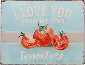 Vintage I Love You Wall Sign