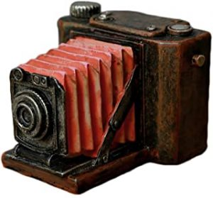 Vintage Style Camera Shaped Piggy Bank