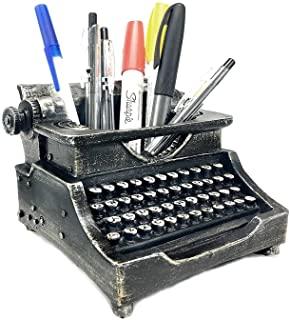 Vintage Typewriter Pencil Holder