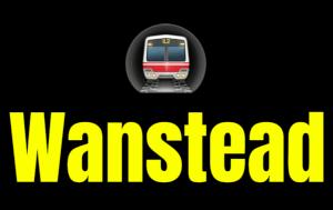 Wanstead  London Underground Station Logo PNG