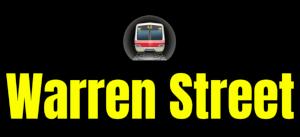 Warren Street  London Underground Station Logo PNG